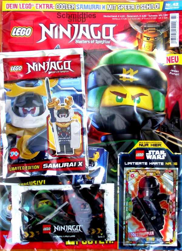 LEGO® NINJAGO Magazin mit Zubehör Nr.43/18 November