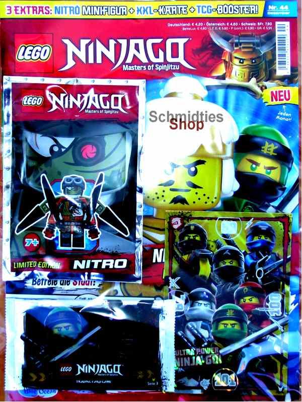 LEGO® NINJAGO Magazin mit Zubehör Nr.44/18 Dezember