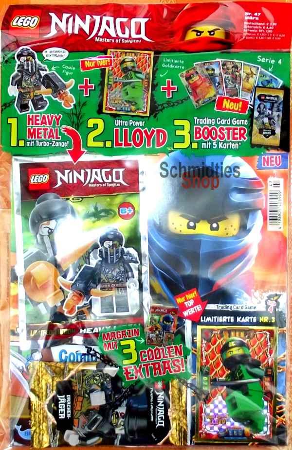 LEGO® NINJAGO Magazin mit Zubehör Nr.47/19 März
