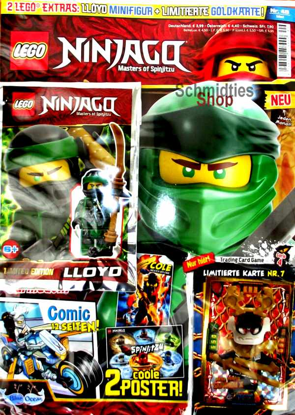 LEGO® NINJAGO Magazin mit Zubehör Nr.49/19 Mai