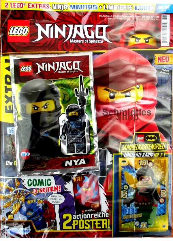 LEGO® NINJAGO Magazin mit Zubehör Nr.51/19 Juli