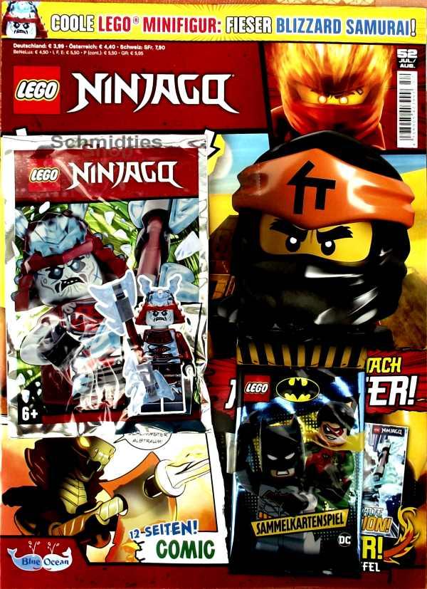 LEGO® NINJAGO Magazin mit Zubehör Nr.52/19 Juli/Aug.