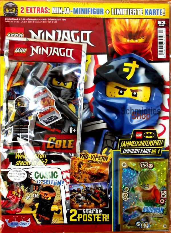 LEGO® NINJAGO Magazin mit Zubehör Nr.53/19 August