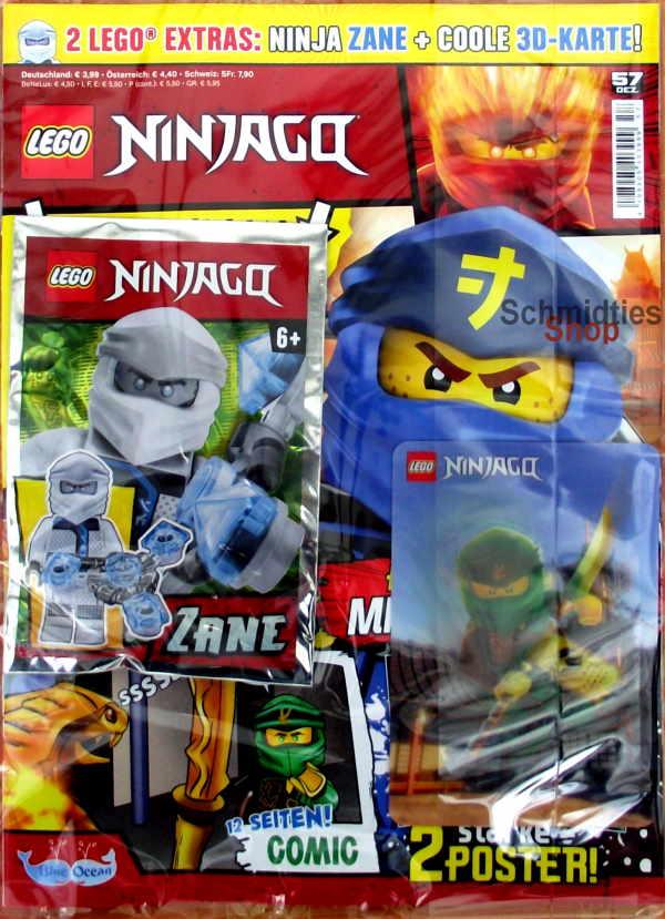 LEGO® NINJAGO Magazin mit Zubehör Nr.57/19 Dezember