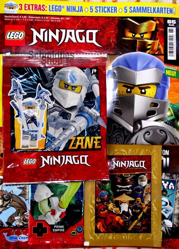 LEGO® NINJAGO Magazin mit Zubehör Nr.65/20 August