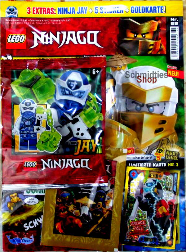 LEGO® NINJAGO Magazin mit Zubehör Nr.69/20 November