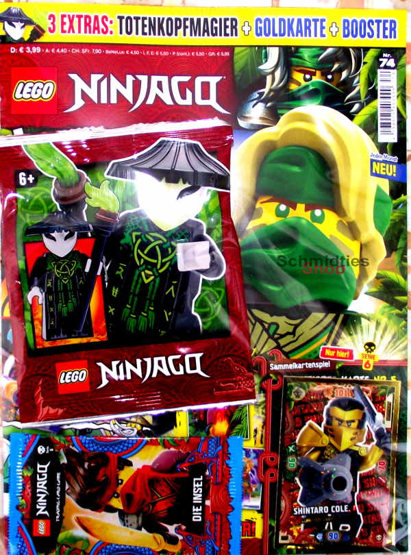 LEGO® NINJAGO Magazin mit Zubehör Nr.74/21 April