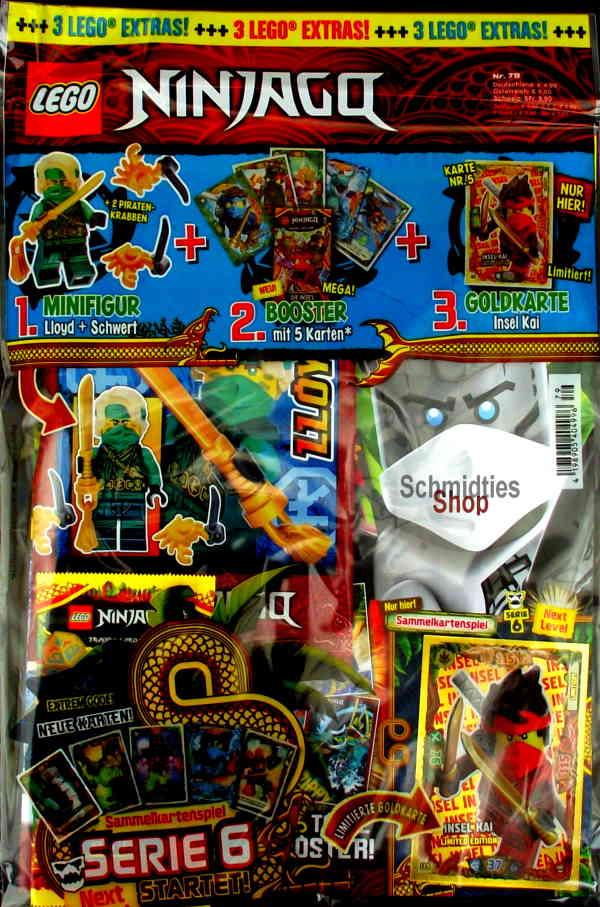 LEGO® NINJAGO Magazin mit Zubehör Nr.79/21
