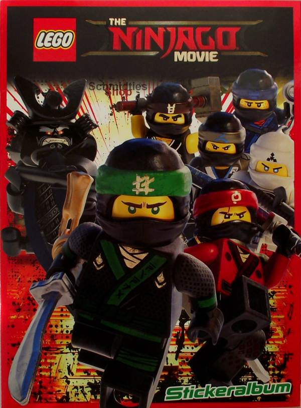 LEGO®THE NINJAGO MOVIE™ - Stickeralbum - Limited Edition