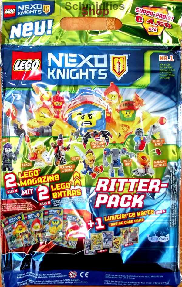 LEGO® Nexo Knights Magazin mit Zubehör Nr.01/19 Januar