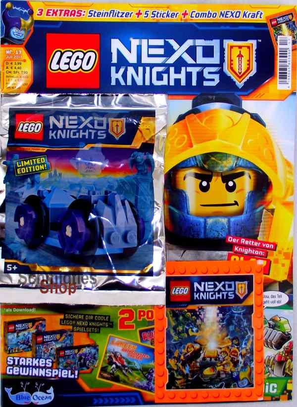 LEGO® Nexo Knights Magazin mit Zubehör Nr.17/17 Juli