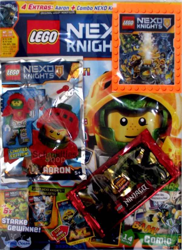 LEGO Nexo Knights Magazin inkl Zubehör Nr.19//17 September Limited Edition