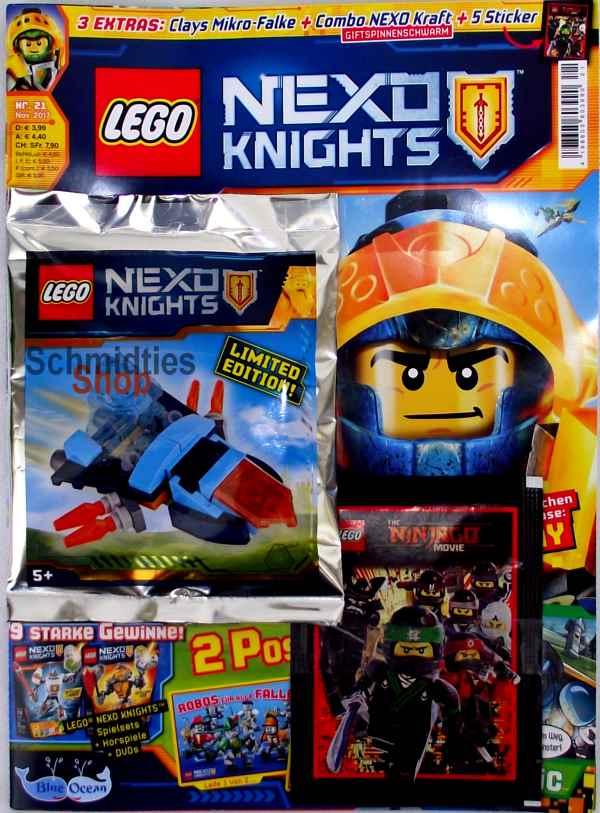 LEGO® Nexo Knights Magazin mit Zubehör Nr.21/17 November