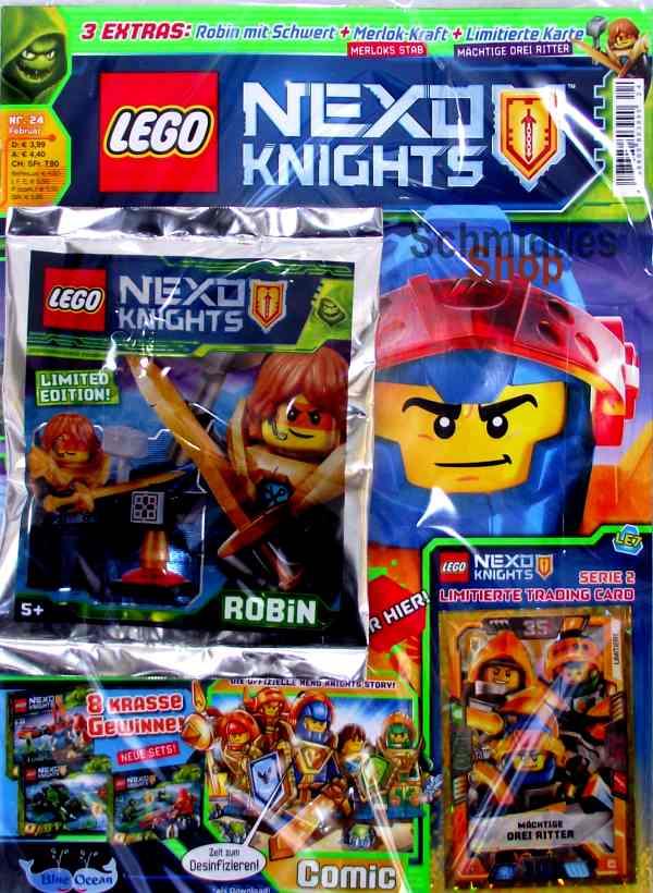 LEGO® Nexo Knights Magazin mit Zubehör Nr.24/18 Februar