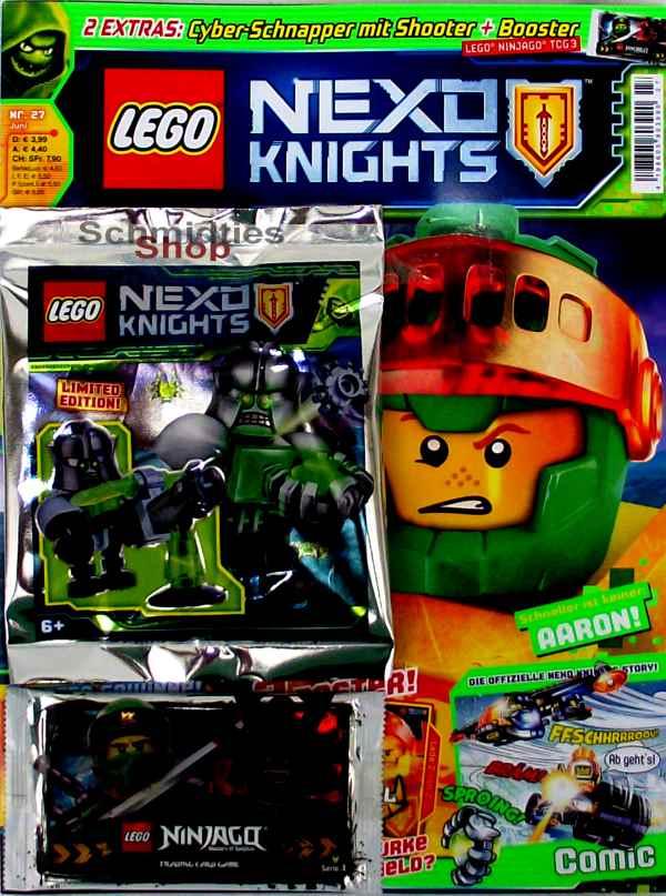 LEGO® Nexo Knights Magazin mit Zubehör Nr.27/18 Juni