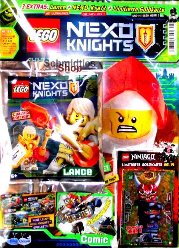 LEGO® Nexo Knights Magazin mit Zubehör Nr.28/18 Juli