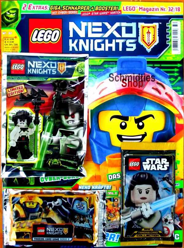 LEGO® Nexo Knights Magazin mit Zubehör Nr.32/18 Dezember