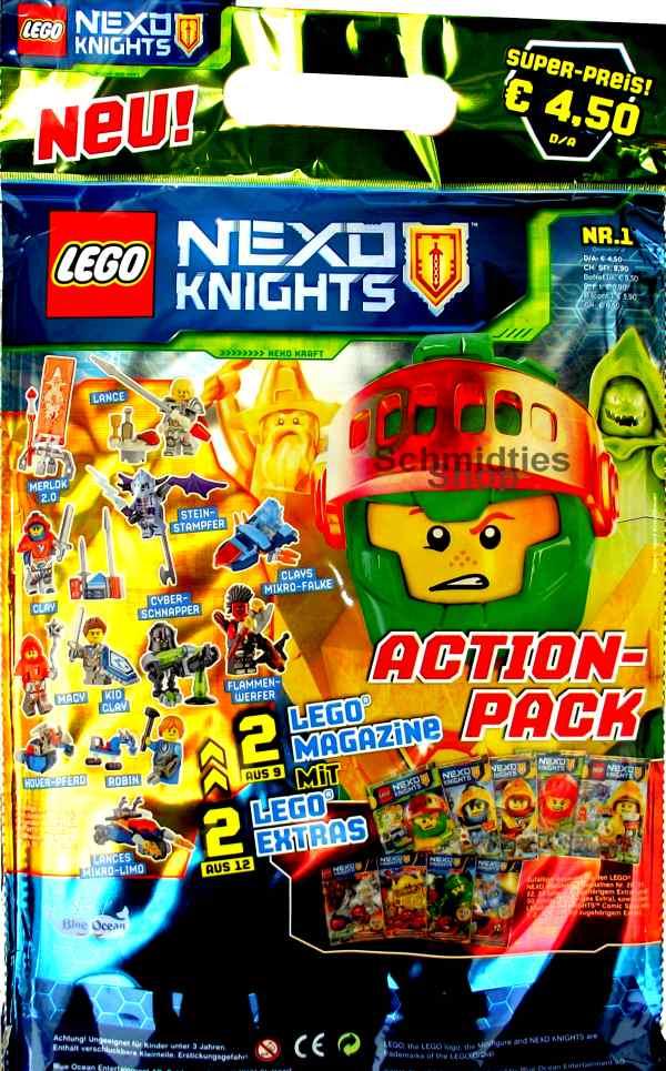 LEGO® Nexo Knights Action Pack mit viel Zubehör Nr.01/19