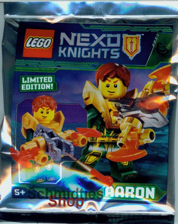 LEGO® Nexo Knights™- Aaron +Power Armbrust