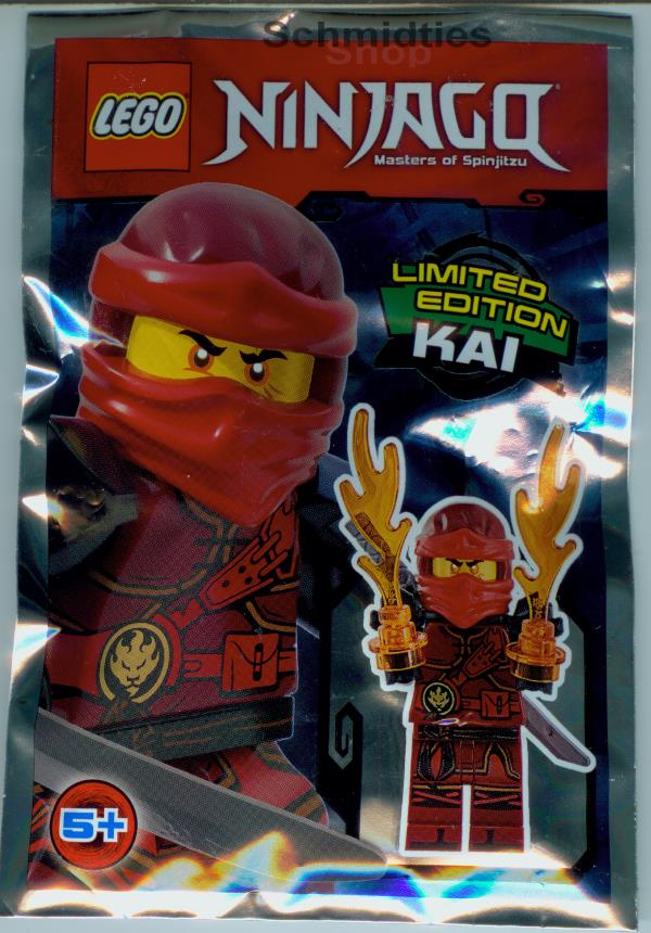 LEGO® NINJAGO™- Kai mit 2 Flammenkräfte und Schwert