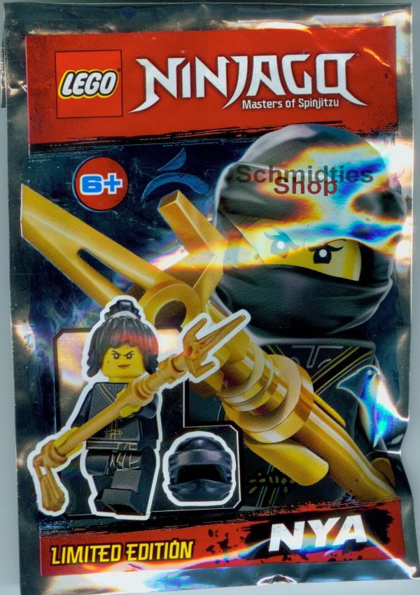 LEGO® NINJAGO™- Nya mit 2 Schwertern, Kristall und Spinne