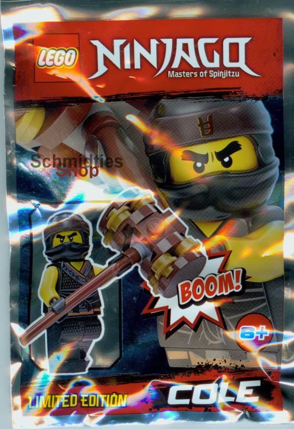Lego® Ninjago™ Cole mit Mega-Hammer