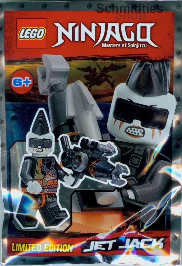 LEGO® NINJAGO™- Jet Jack mit Turbo-Zange!