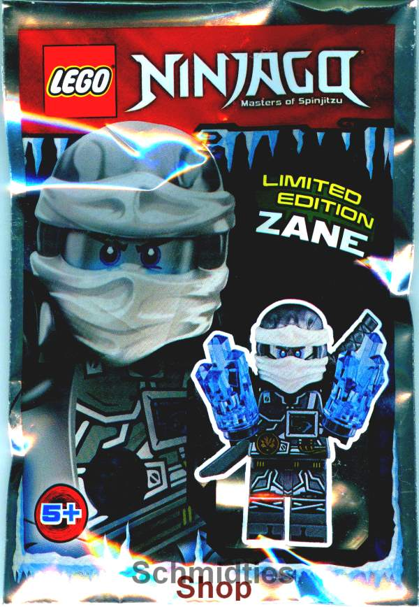 LEGO® NINJAGO™- Zane mit Schwert & 2-Fach Eispower (Selten)