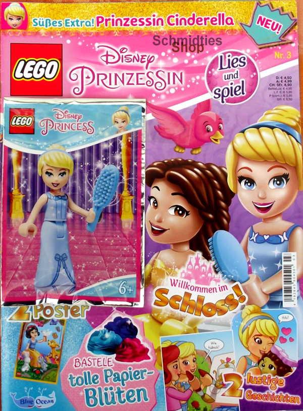 LEGO® Disney Prinzessin Magazin mit Zubehör Nr.03/20