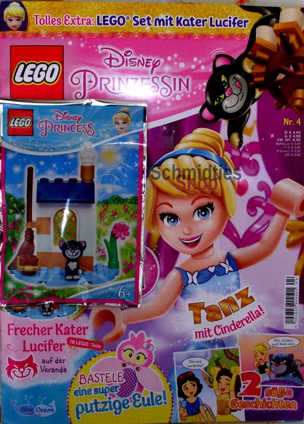 LEGO® Disney Prinzessin Magazin mit Zubehör Nr.04/20