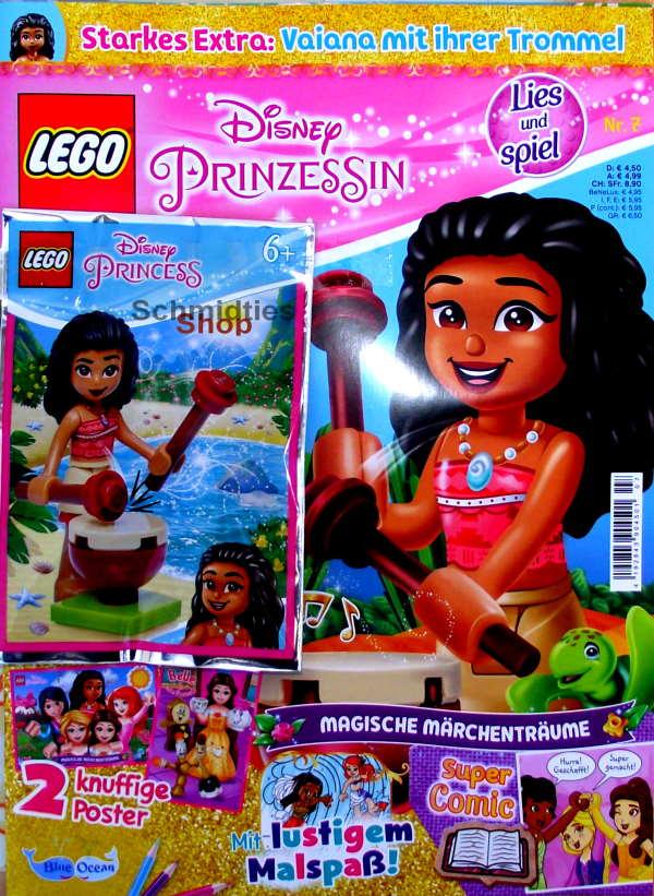LEGO® Disney Prinzessin Magazin mit Zubehör Nr.07/21