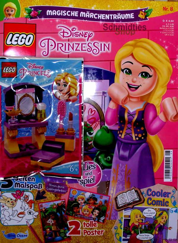 LEGO® Disney Prinzessin Magazin mit Zubehör Nr.08/21