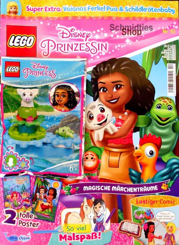 LEGO® Disney Prinzessin Magazin mit Zubehör Nr.10/21