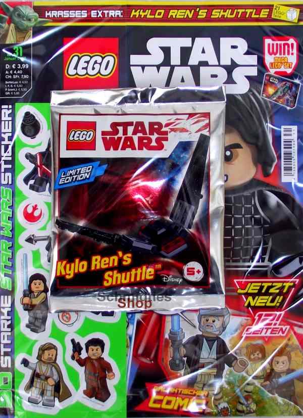 LEGO® StarWars Magazin mit Zubehör Nr.31/18 Januar