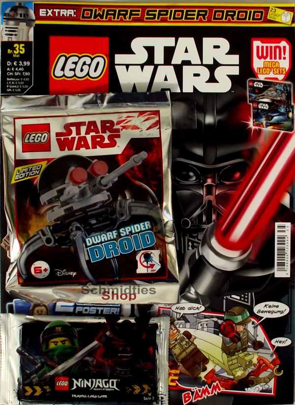 LEGO® StarWars Magazin mit Zubehör Nr.35/18 Mai