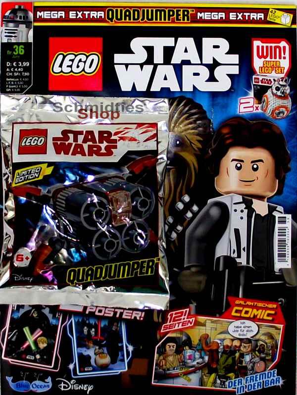 LEGO® StarWars Magazin mit Zubehör Nr.36/18 Juni