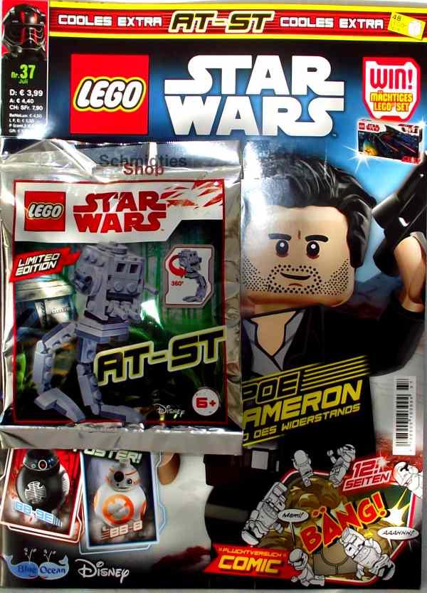LEGO® StarWars Magazin mit Zubehör Nr.37/18 Juli
