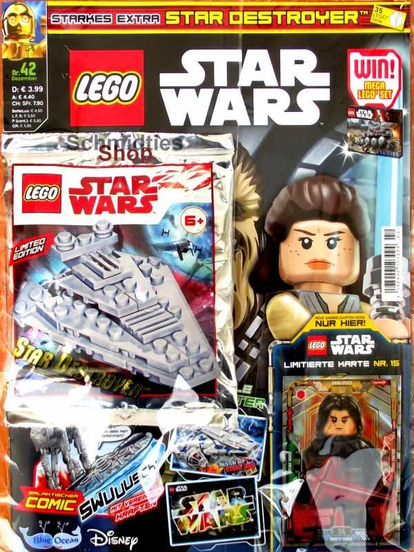 LEGO® StarWars Magazin mit Zubehör Nr.42/18 Dezember