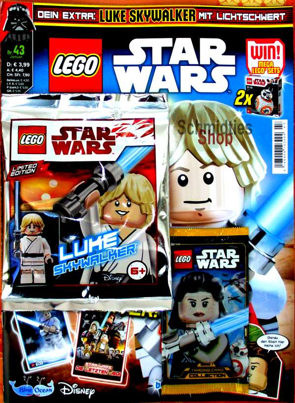 LEGO® StarWars Magazin mit Zubehör Nr.43/19 Januar