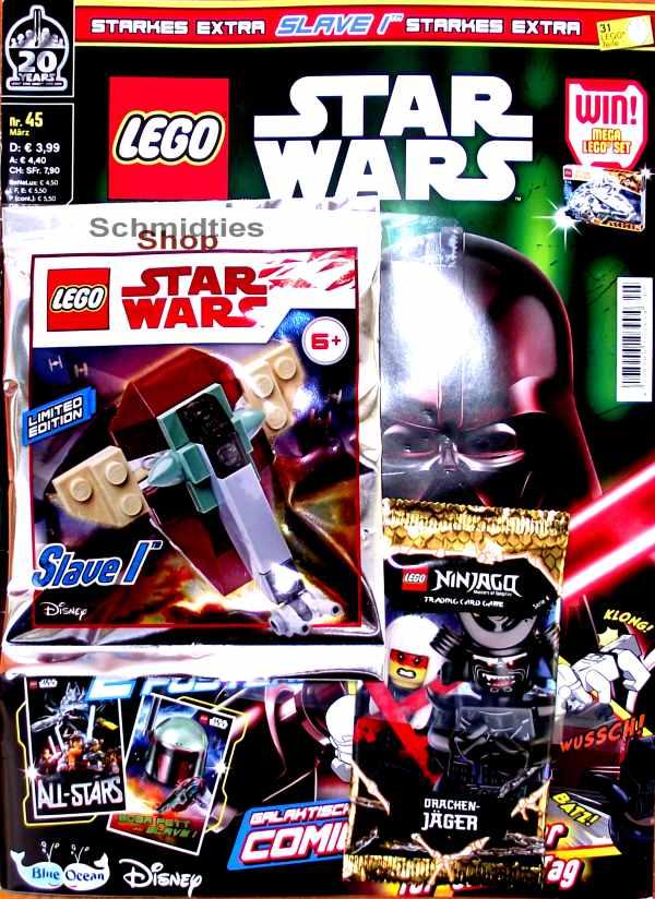 LEGO® StarWars Magazin mit Zubehör Nr.45/19 März