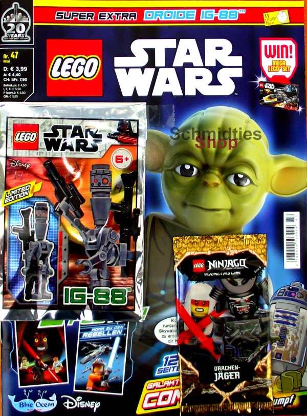 LEGO® StarWars Magazin mit Zubehör Nr.47/19 Mai