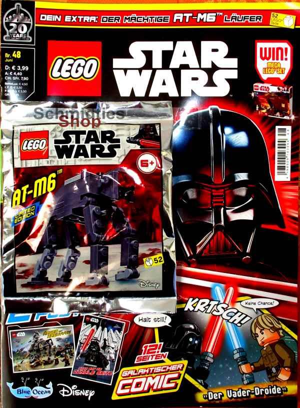 LEGO® StarWars Magazin mit Zubehör Nr.48/19 Juni