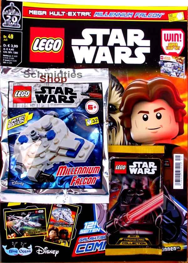 LEGO® StarWars Magazin mit Zubehör Nr.49/19 Juli