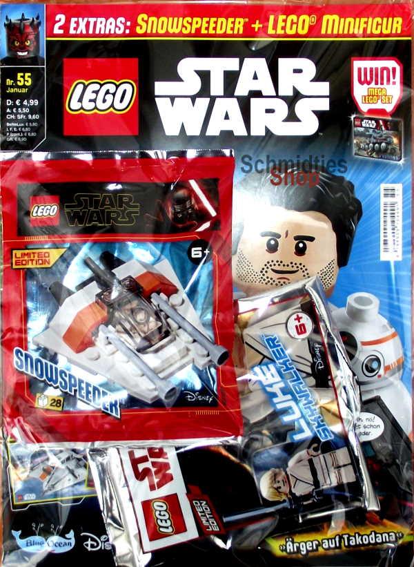 LEGO® StarWars Magazin mit Zubehör Nr.55-1/20 Januar
