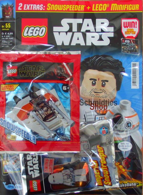 LEGO® StarWars Magazin mit Zubehör Nr.55-2/20 Januar