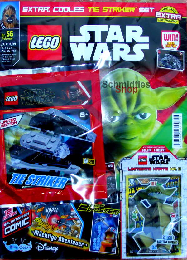 LEGO® StarWars Magazin mit Zubehör Nr.56/20 Februar