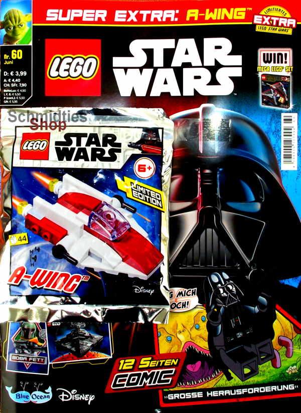 LEGO® StarWars Magazin mit Zubehör Nr.60/20 Juni