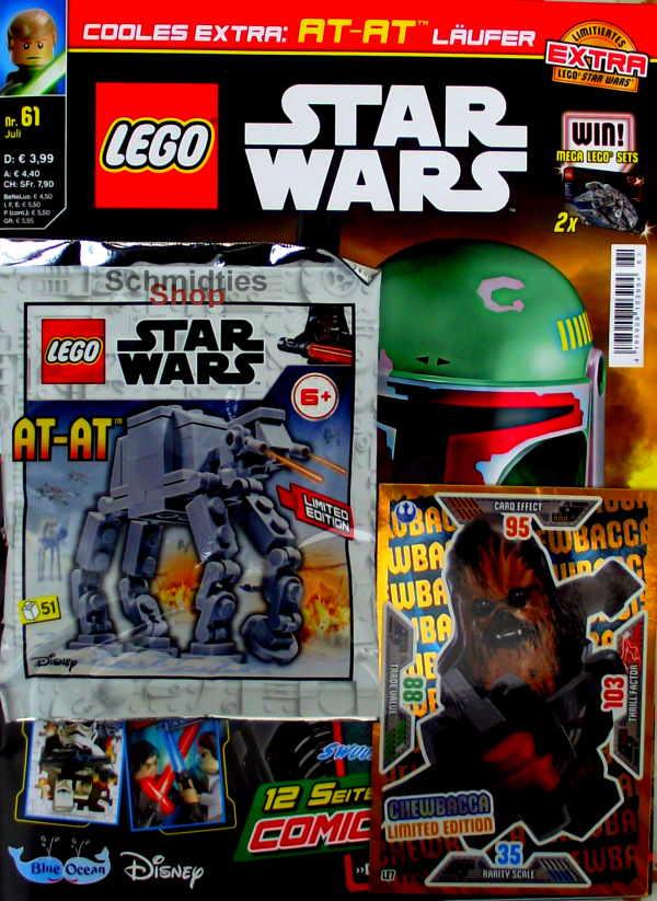 LEGO® StarWars Magazin mit Zubehör Nr.61/2/20 Juli