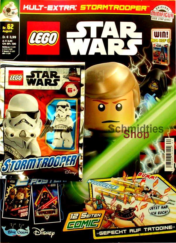 LEGO® StarWars Magazin mit Zubehör Nr.62/20 August