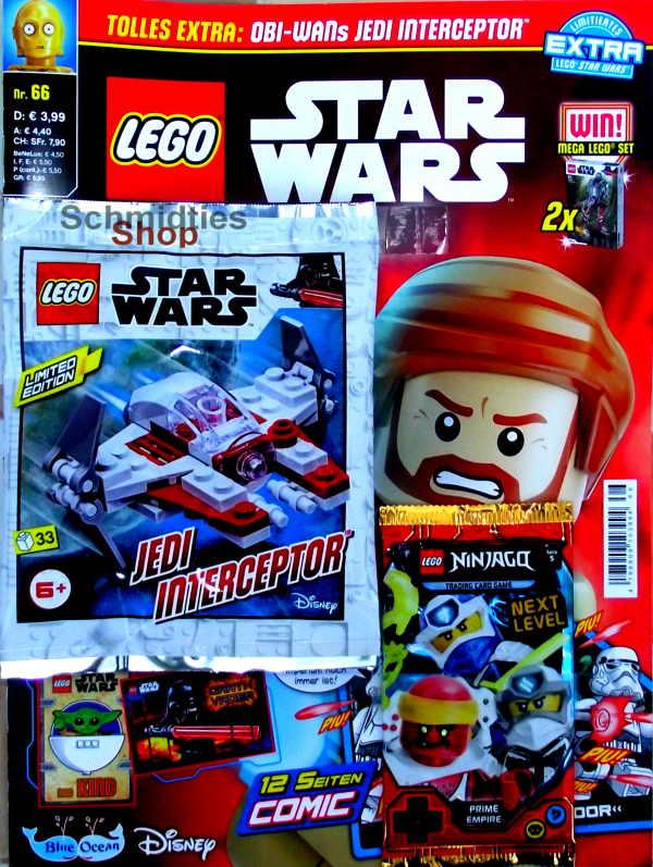 LEGO® StarWars Magazin mit Zubehör Nr.66/20 November